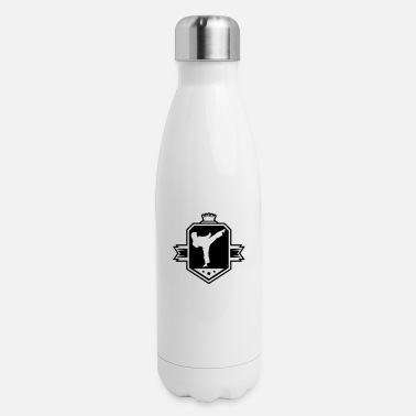 karate_logo_uy1 - Insulated Stainless Steel Water Bottle
