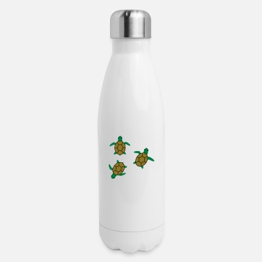 Sea Turtle sea turtles - Insulated Stainless Steel Water Bottle