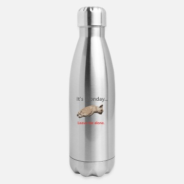 Monday Monday-ItsMondayLeaveMeAl - Insulated Stainless Steel Water Bottle