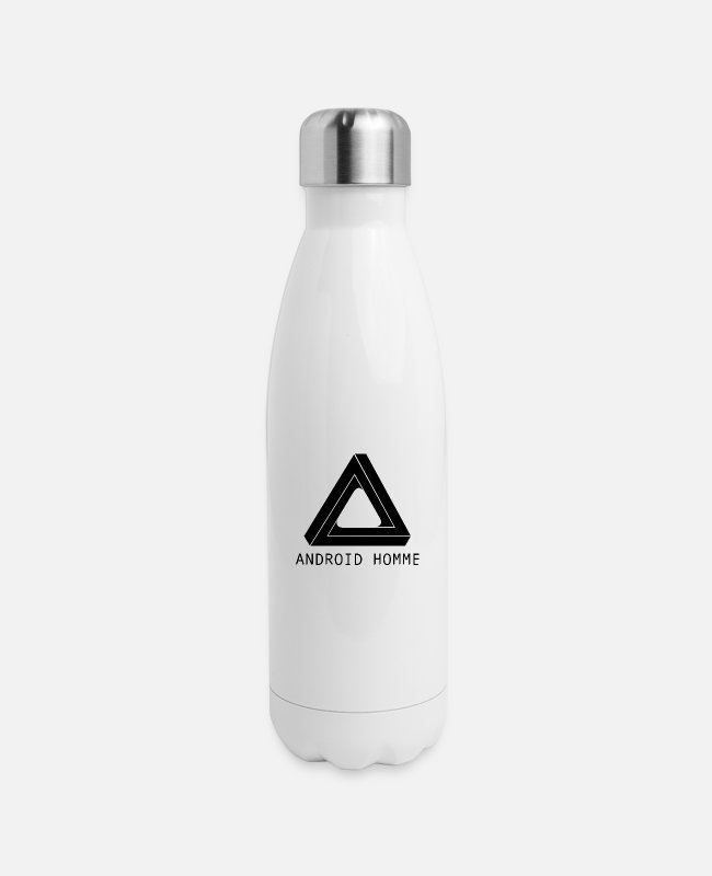 Sci-fi Mugs & Cups - Android Homme - Insulated Stainless Steel Water Bottle white