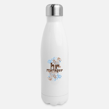 Human HR Manager Human Resources Gift - Insulated Stainless Steel Water Bottle