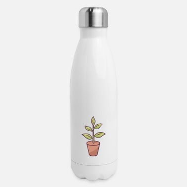 Blume Gardening Gifts for Gardener and Plantlover - Insulated Stainless Steel Water Bottle