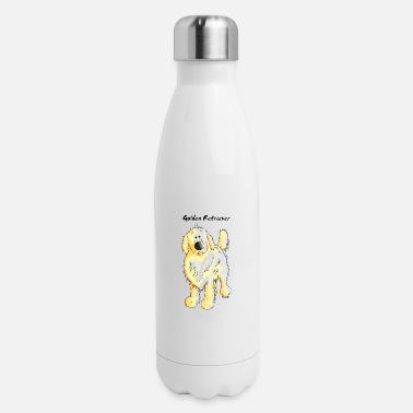 Cute Golden Retriever Cute Golden Retriever - Insulated Stainless Steel Water Bottle