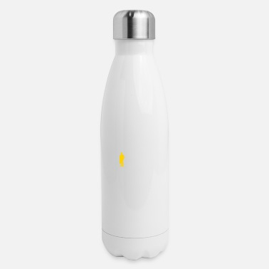 My Job Is Secure, Because No One Wants It! - Insulated Stainless Steel Water Bottle