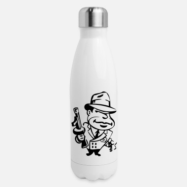 Gangster gangster - Insulated Stainless Steel Water Bottle