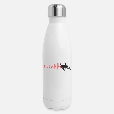 Faster The heartbeat is getting faster and faster - Insulated Stainless Steel Water Bottle