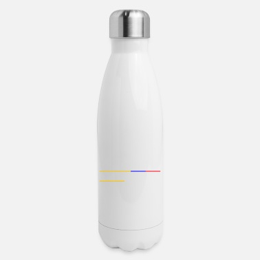 Flag Of Venezuela Colombian Mom - Insulated Stainless Steel Water Bottle