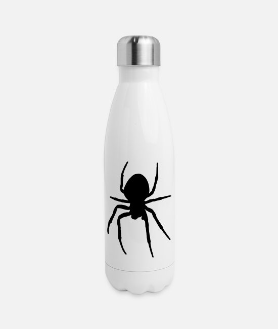 Widow Mugs & Cups - Spider - Insulated Stainless Steel Water Bottle white