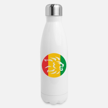 RASTA LION HEAD - Insulated Stainless Steel Water Bottle