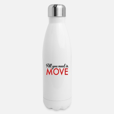 Move move - Insulated Stainless Steel Water Bottle