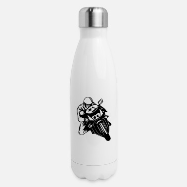 Motor Race Motorcycle, Bike, Motor Race Hoodie - Insulated Stainless Steel Water Bottle