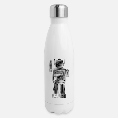 4N0D3robot - Insulated Stainless Steel Water Bottle