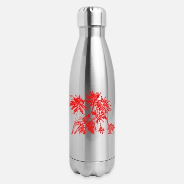 Easy Palm trees - Insulated Stainless Steel Water Bottle