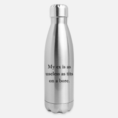 Lesbian Gag 0281 - Ex Bore Tits - Insulated Stainless Steel Water Bottle