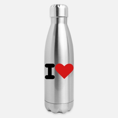 I Heart i heart - Insulated Stainless Steel Water Bottle