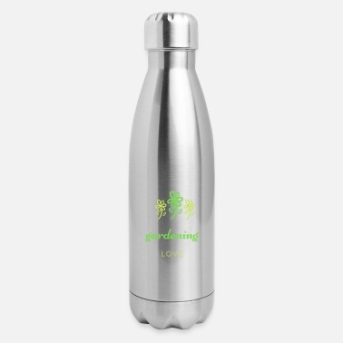 Snake plant and gardening lovers for a better future - Insulated Stainless Steel Water Bottle