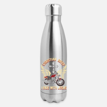 Motorcycle motorcycle motorcycle chopperChristian Motorcycle - Insulated Stainless Steel Water Bottle