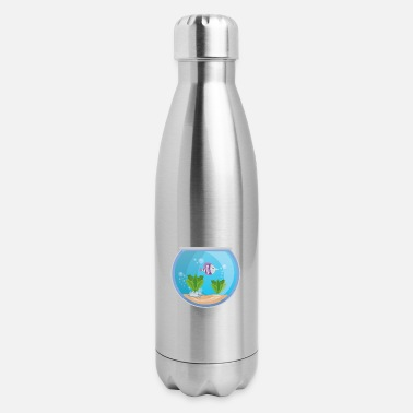 Aquarium Aquarium - Insulated Stainless Steel Water Bottle