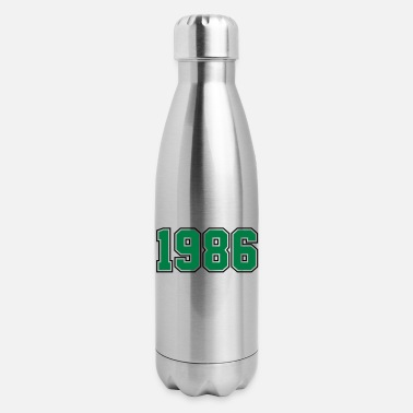 Year Of Birth 1986 | Year of Birth | Birth Year | Birthday - Insulated Stainless Steel Water Bottle