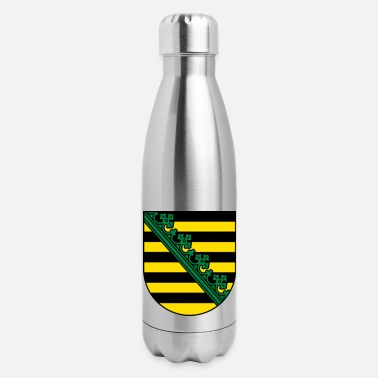 Saxony Saxony Coat Of Arms - Insulated Stainless Steel Water Bottle