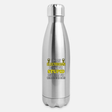 Funny Electrician I'm an Electrician Funny Electrician - Insulated Stainless Steel Water Bottle
