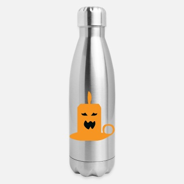 Witch Scary candle - Insulated Stainless Steel Water Bottle