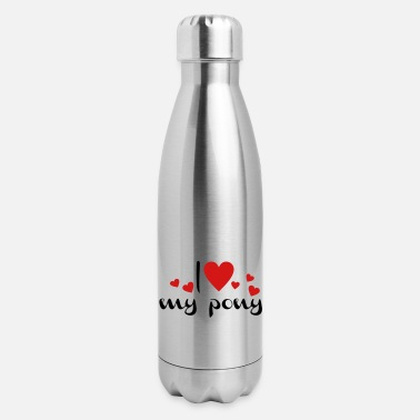 Pony pony - Insulated Stainless Steel Water Bottle
