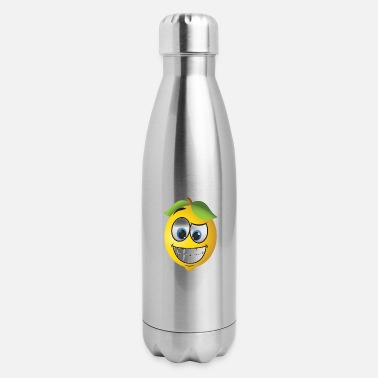 lemon head - Insulated Stainless Steel Water Bottle