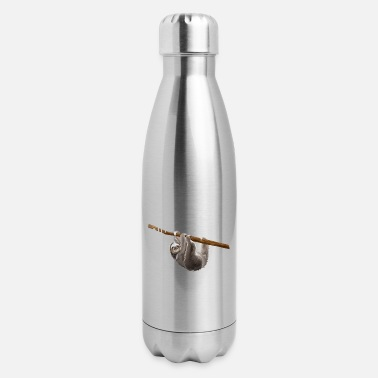 Running Sloth running team we'll get there when we get - Insulated Stainless Steel Water Bottle