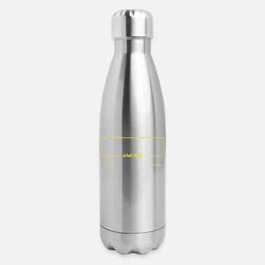 Minimum Limits are my minimum - Insulated Stainless Steel Water Bottle