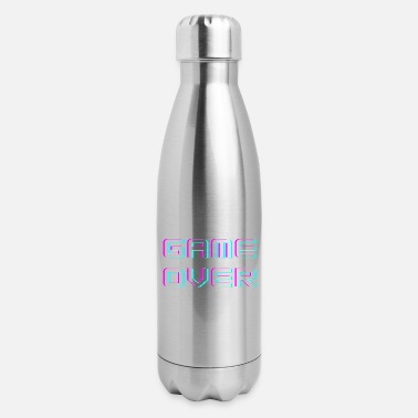 Question Mark Game Over - Insulated Stainless Steel Water Bottle