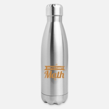 Pi English Is Important But Math Is Importanter - Insulated Stainless Steel Water Bottle