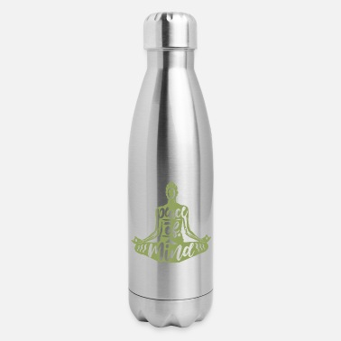 Meditation Meditation Meditate - Insulated Stainless Steel Water Bottle