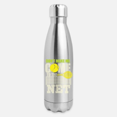 Tennisball Tennis tennis racket tennisball tennis match - Insulated Stainless Steel Water Bottle