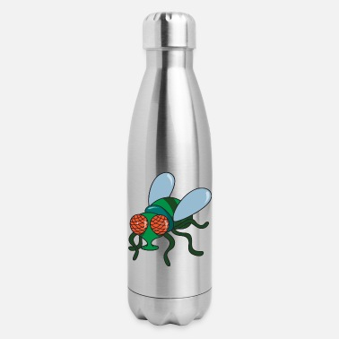 Fly Fly Insect - Insulated Stainless Steel Water Bottle