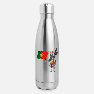 Portuguese A Portuguese Zebra - Insulated Stainless Steel Water Bottle