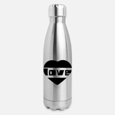Love With Heart love with heart - Insulated Stainless Steel Water Bottle