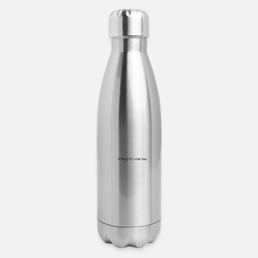Writing Writing Is - Insulated Stainless Steel Water Bottle