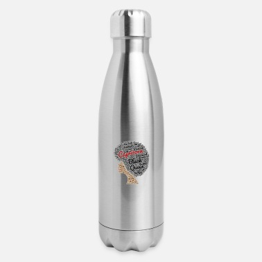 Capricorn Afro Hair Art - Insulated Stainless Steel Water Bottle