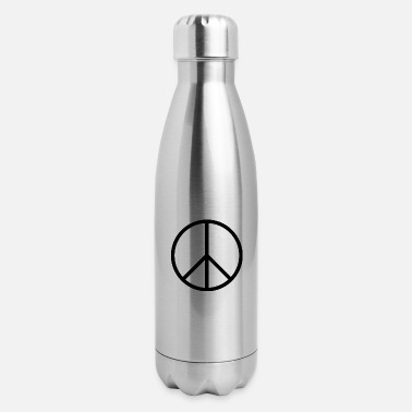Sign Peace sign - Insulated Stainless Steel Water Bottle