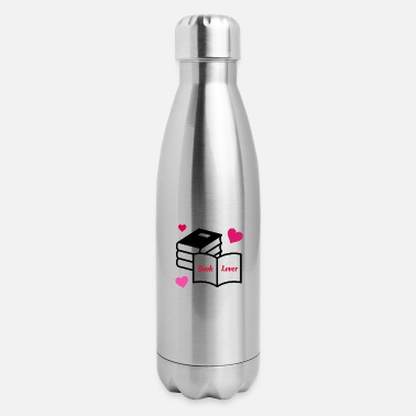 Book Lover - Insulated Stainless Steel Water Bottle