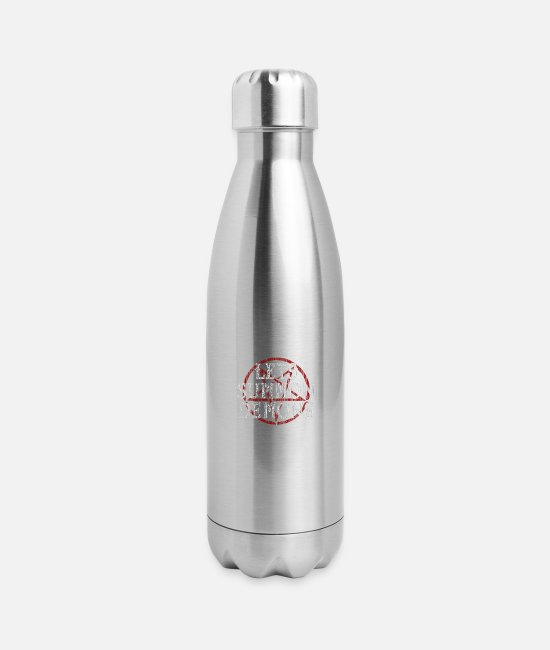 Chaos Mugs & Cups - Summon Demons - Insulated Stainless Steel Water Bottle silver