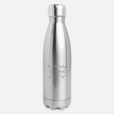Usa New York - NY - NYC - City - USA - United States - Insulated Stainless Steel Water Bottle