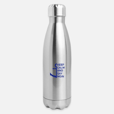 Dialect Moin north dialect anchor gift - Insulated Stainless Steel Water Bottle