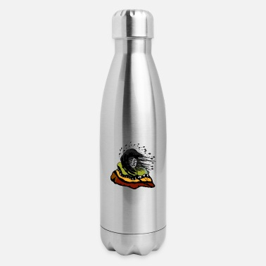 Plain plains indian - Insulated Stainless Steel Water Bottle