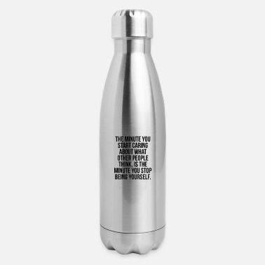 Self Self-love Self-worth Discipline - Insulated Stainless Steel Water Bottle