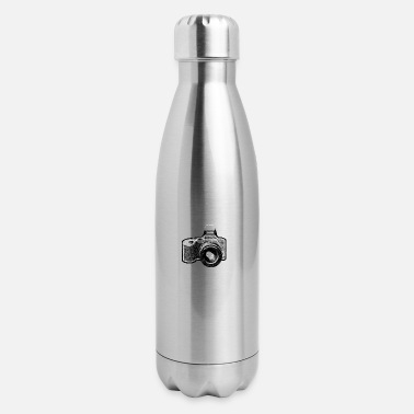 Camera - Insulated Stainless Steel Water Bottle