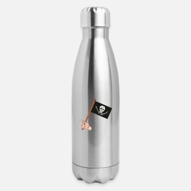 Pirate Flag Pirate Flag - Insulated Stainless Steel Water Bottle
