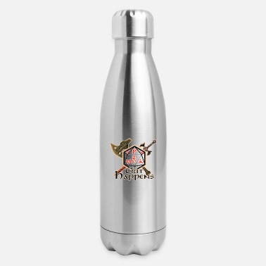 Dice Crit Happens - Insulated Stainless Steel Water Bottle