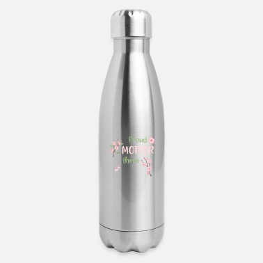 proud mother of plants - Insulated Stainless Steel Water Bottle